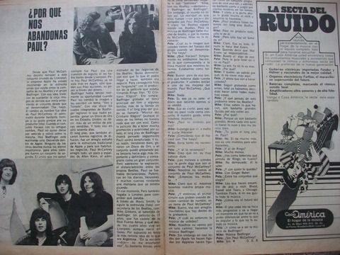 Pelo interview Badfinger drummer Mike Gibbins 1970