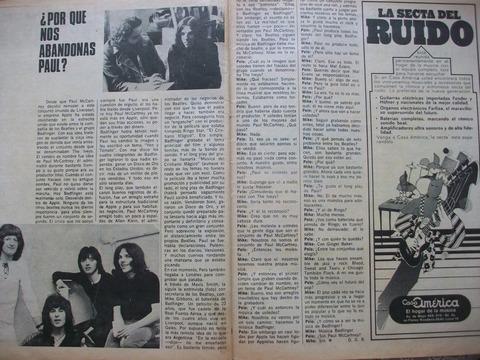 Pelo interview Badfinger drummer Mike Gibbins 1970