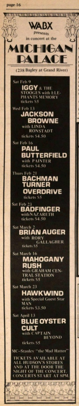 Ann Arbor Sun Feb 8, 1974