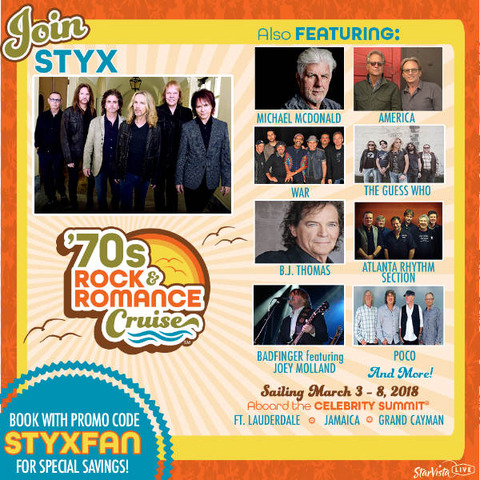 Rock and Romance Cruise 2018