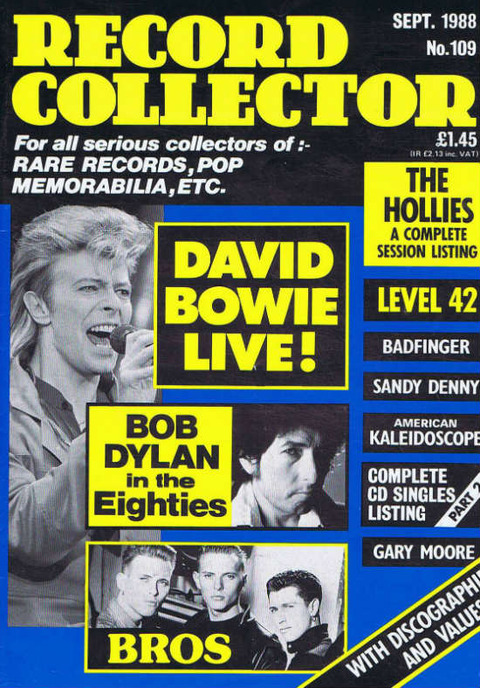 Record Collector #109 (September 1988)
