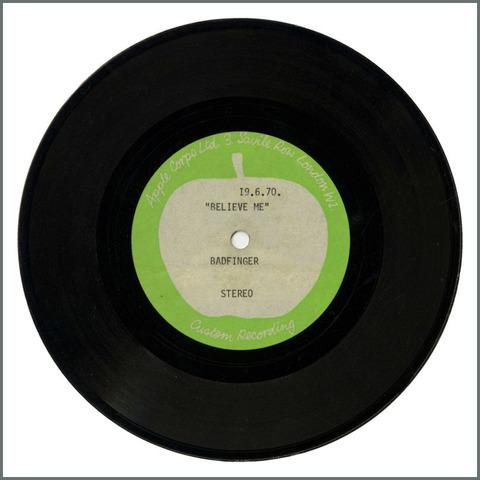 B28942 - Badfinger - 1970 Believe Me Apple Acetate