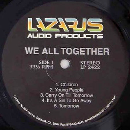 We All Together 1997 Lazarus LP r