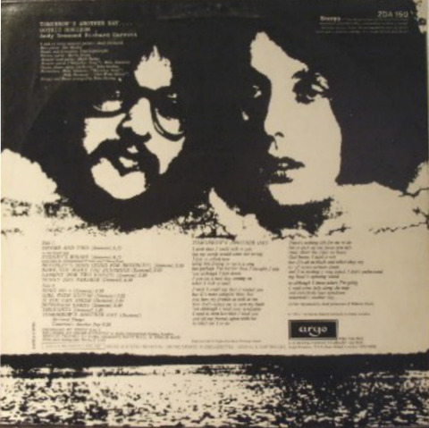 Gothic Horizon - 1972 LP back