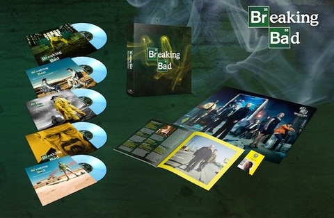 Breaking Bad vinyl box