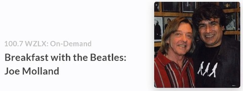 Breakfast with the Beatles on WZLX (Oct 19, 2017)
