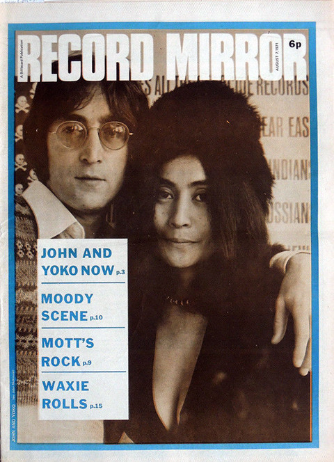 Record-Mirror-1971-08-07 cover