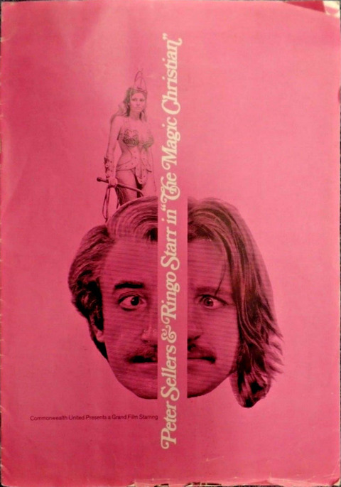The Magic Christian 1969 Promo Program Pressbook cover
