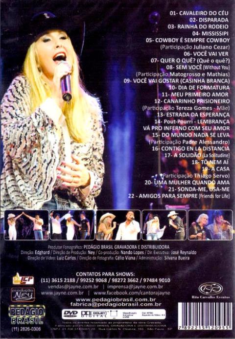 Jayne Amigos para Sempre DVD b