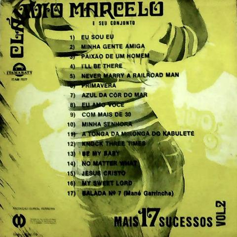Cláudio Marcelo - Mais 17 sucessos 2 back