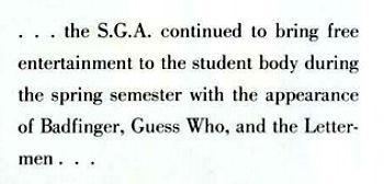 Morehead State University 1973 Yearbook c
