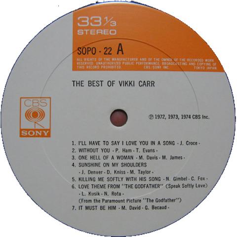 Vikki Carr - SOPO-22 r