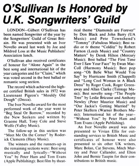 Billboard 1973年5月19日 P59