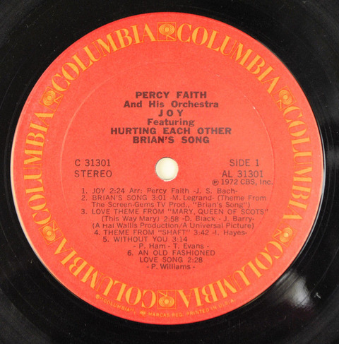 Percy Faith - C 31301 r