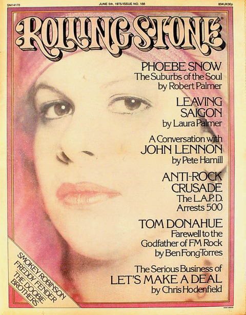 Rolling Stone June 5, 1975 cover
