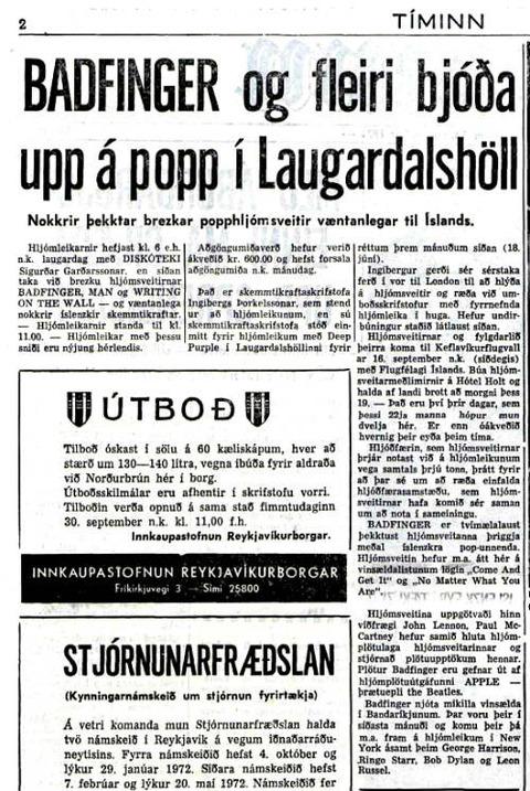 Tíminn Sep 12, 1971