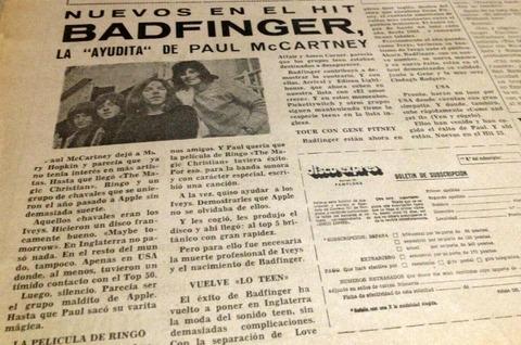 Disco Expres #66 (April 12, 1970) Badfinger