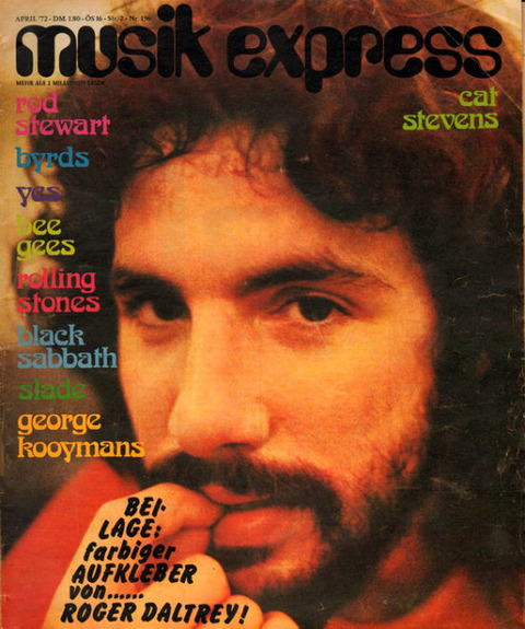 Musikexpress #196 (April 1972) cover