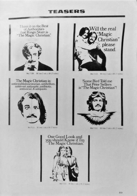 The Magic Christian 1969 Promo Program Pressbook p19