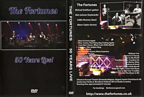 The Fortunes 50 years Live DVD a
