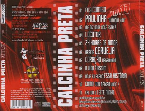 Calcinha Preta - CD 17 b