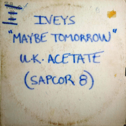 Maybe Tomorrow Acetate LP UK Apple
