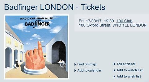 Badfinger - 100 Club, London (May 17, 2017)