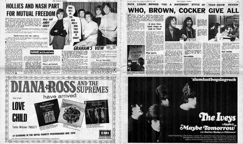 NME #1140 (Nov 16, 1968) ad