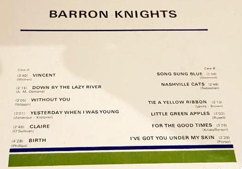 Barron Knights Barron Knights b
