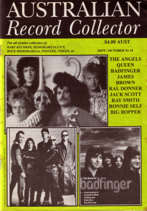 Australian Record Collector #18 (September-October 1995) cover