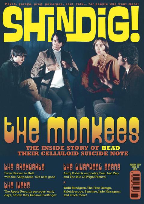 Shindig! #19 NovDec 2010 cover