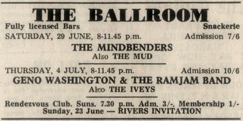 Iveys July 4, 1968