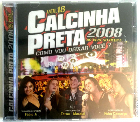 Calcinha Preta - CD 18 a 15 songs