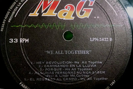 We All Together MaG LP r2a
