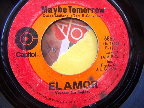 El Amor - Maybe Tomorrow (1971)