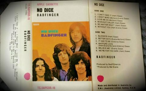 Badfinger - No Dice Australia cass
