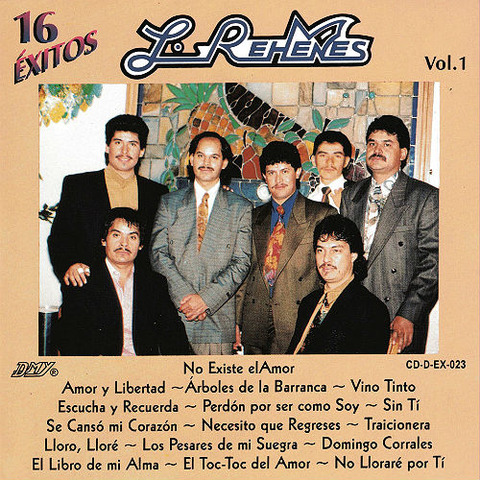 Los Rehenes - CD-D-EX-023
