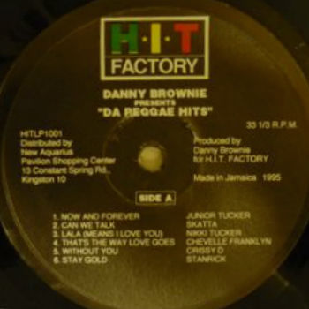 Danny Brownie Presents Da Reggae Hits r