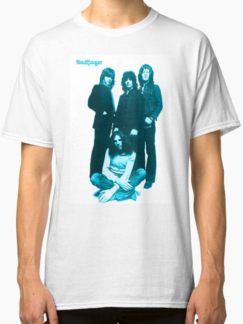 Redbubble Badfinger - Baby Blue Long T-Shirt