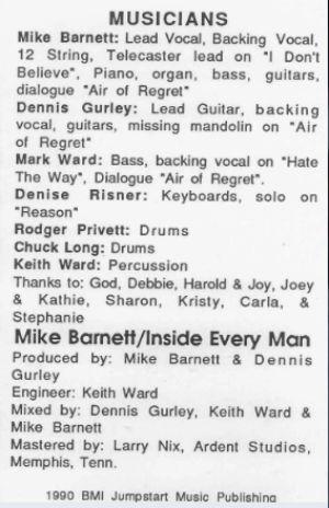 Mike Barnett Musicians