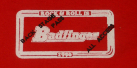 Badfinger 1990 Original Tour T-Shirt a2