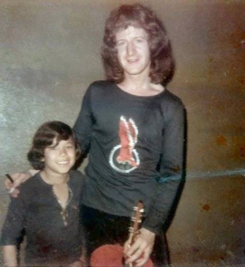 New Orleans (March 31, 1972) Ami with Pete Ham