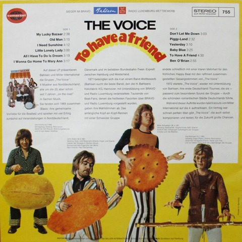 The Voice - To Have A Friend (Ger) back
