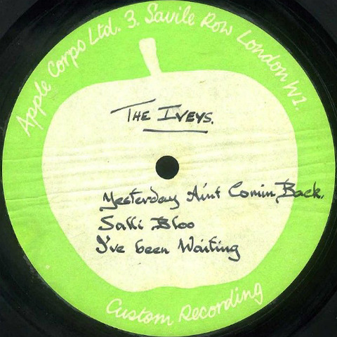 The Iveys 10 inch acetate