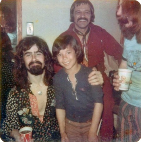New Orleans (March 31, 1972) Ami with Tom Evans & Mike Gibbins