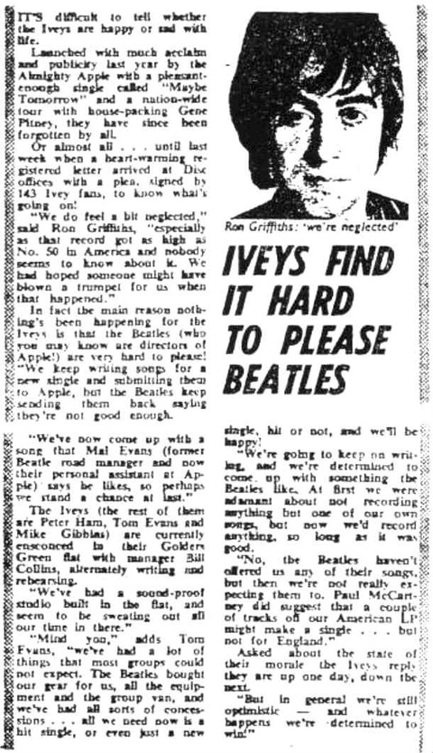Disc and Music Echo (July 5, 1969) Ron