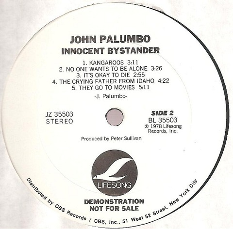 John Palumbo - Innocent Bystander (1978) r2