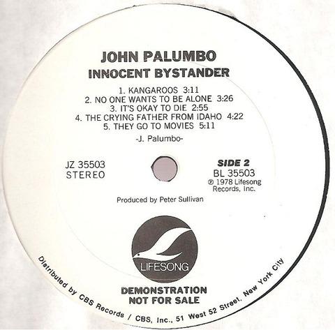 John Palumbo - Innocent Bystander (1978) r2