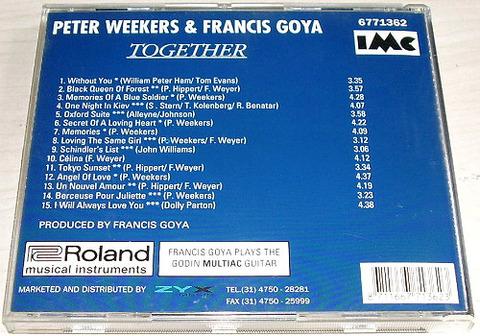 Peter Weekers & Francis Goya 6771362 back