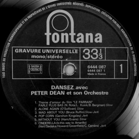 Dansez avec Peter Dean c